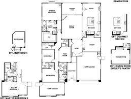 Richmond American Floor Plans Richmond American Homes Sossaman Estates Dominic 1118019 Queen