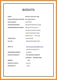 Sample Resume For Marriage by Sample Resume Marriage Purpose Americans Thumb Cf