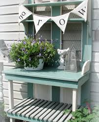 Plant Bench Plans - pallet potting bench useful for different chores 101 pallets