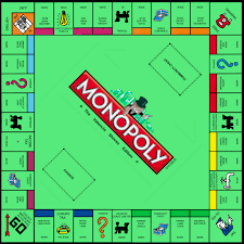 Monopoly Map Blueprint Final I Asked Myself Suppose I Adapted The Monop U2026 Flickr