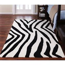Zebra Outdoor Rug Black And White Zebra Rug Popular As Round Area Rugs On Rug Sale