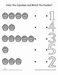 counting cupcakes worksheet education com