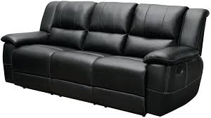 Black Leather Sofa Recliner Black Leather With Recliners Black Leather Sectional Sofa