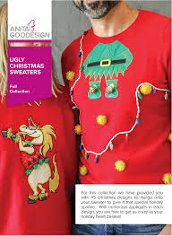 amazon com anita goodesign embroidery designs ugly christmas sweaters