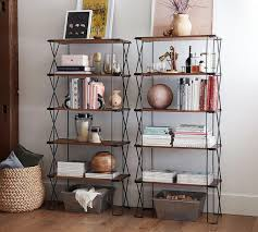 Pottery Barn Ladder Shelf Dublin Stackable Shelving Unit Pottery Barn Au
