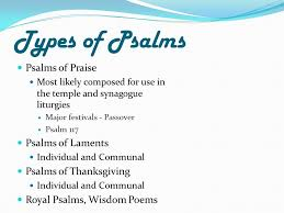 psummer in the psalms ppt