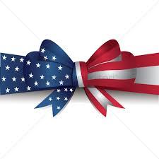Usa Flag Photos Usa Flag Ribbon Bow Vector Image 1512284 Stockunlimited