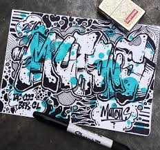 graffiti 3d book wall graffiti art