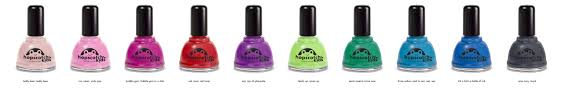 raspberry kids eco friendly non toxic salon quality nail polish