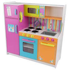 jouet de cuisine grande cuisine de luxe aux couleurs vives kidkraft king jouet