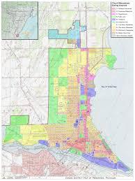 Mi Map City Of Menominee Zoning District Map Menominee Mi