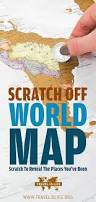 Scratch Off Map Scratch Off World Map Scratch To Reveal The Places You Travel