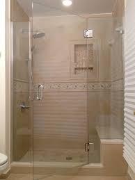 Euro Shower Doors by Frameless Inline Shower Enclosures