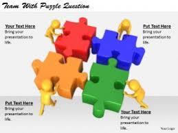 puzzle question slide team