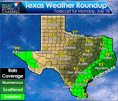 Weather Map Texas Seabreeze Showers This Afternoon In Southeast Texas Stagnant