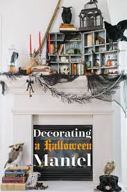 Decorating Your First Home by A Step By Step Guide To Decorating Your Mantel For Halloween