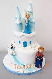 Tasteful Cakes By Christina Georgiou Frozen Castle Cake U2013 Elsa