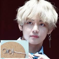 men earings kpop bts stud men earrings earrings for men