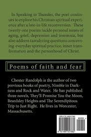 Massachusetts travel poems images Speaking to thunder poems of faith and fear chester randolph jpg