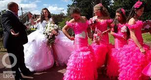 Pink Bridesmaid Dresses The World U0027s Worst Bridesmaid Dresses Last Night Of Freedom