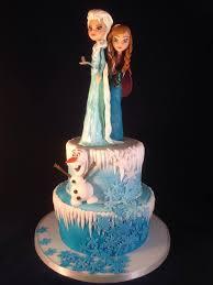 frozen cake anna elsa modelling chocolate