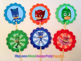 109 pj masks party images mask party pajamas