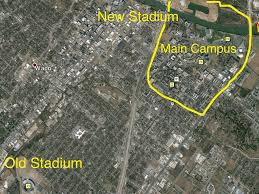 Lsu Campus Map Link Baylor U0027s New On Campus Stadium Page 8