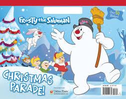 christmas parade frosty snowman mary man kong