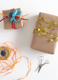brown gift wrapping paper diy 4 ways to fancy up plain brown gift wrap shari s berries