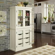 Home Styles Nantucket Kitchen Island Home Styles Distressed White Nantucket China Pantry Home