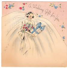 Gift Card Wedding Gift A Vintage Cottage Home A Vintage Wedding Gift Card For Pink