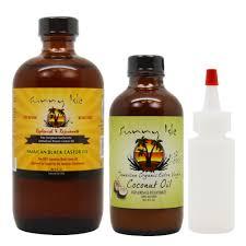 How To Use Jamaican Black Castor Oil For Hair Growth Amazon Com Sunny Isle Jamaican Black Castor Oil 8oz U0026 Extra