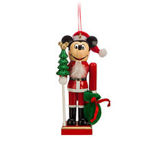 your wdw store disney ornament santa mickey mouse