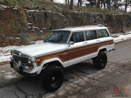 kaiser jeep lifted grand wagoneer 4x4 rebuilt motor super clean 6