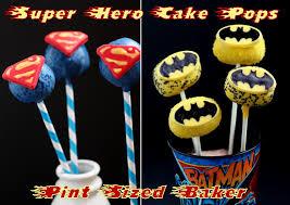 super hero cake pop molds pint sized baker