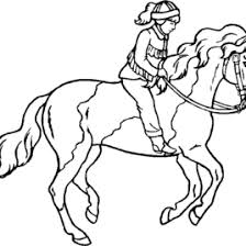 free printable horse coloring pages kids printable horse