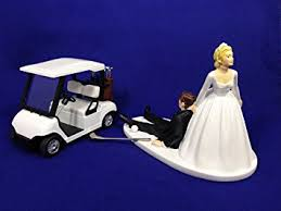 and groom cake toppers and groom golf wedding cake topper golf