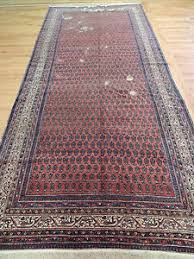 Wide Runner Rug Antique Ralph Style Worn Look Wide 6x13