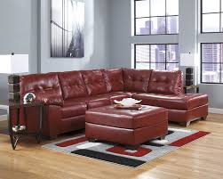 Leather Sofas In San Diego Ashley Furniture Alliston 20100 Salsa Red Sectional Chaise Sofa