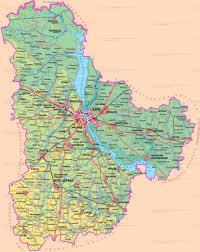 Kiev Map Kiev Region Regions Of Ukraine