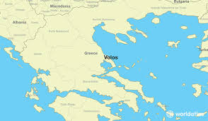 volos map where is volos greece volos thessaly map worldatlas