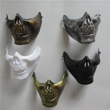 silver skull halloween mask online buy wholesale skull halloween mask from china skull
