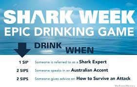 Shark Week Meme - shark week epic drinking game weknowmemes