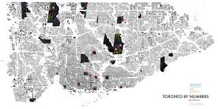 Map Of Toronto Toronto Densities Map Now Available For Download Era Architects