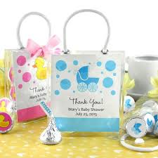 baby shower gift bags personalized baby shower hershey s kisses mini gift tote