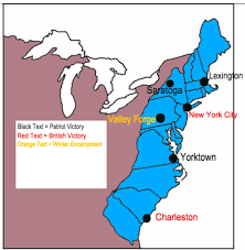 make your own revolutionary war map