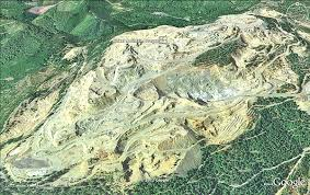 map of oregon gold mines extractive industries