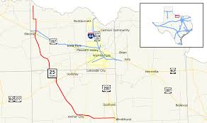 Texas City Map Texas State Highway 25 Wikipedia