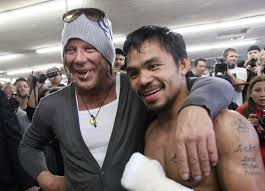 Mickey Rourke News Newslocker - 62 year old mickey rourke is reviving his boxing career in russia