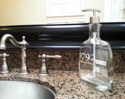 Hand Soap Dispenser Etsy - Bathroom hand soap dispenser